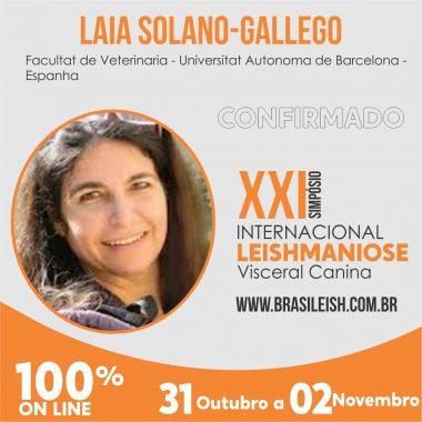Laia Solano-Gallego - Palestrante internacional confirmada para o XXI Simpósio Internacional de Leishmaniose Visceral Canina