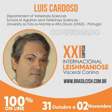 Luis Cardoso - Palestrante internacional confirmada para o XXI Simpósio Internacional de Leishmaniose Visceral Canina